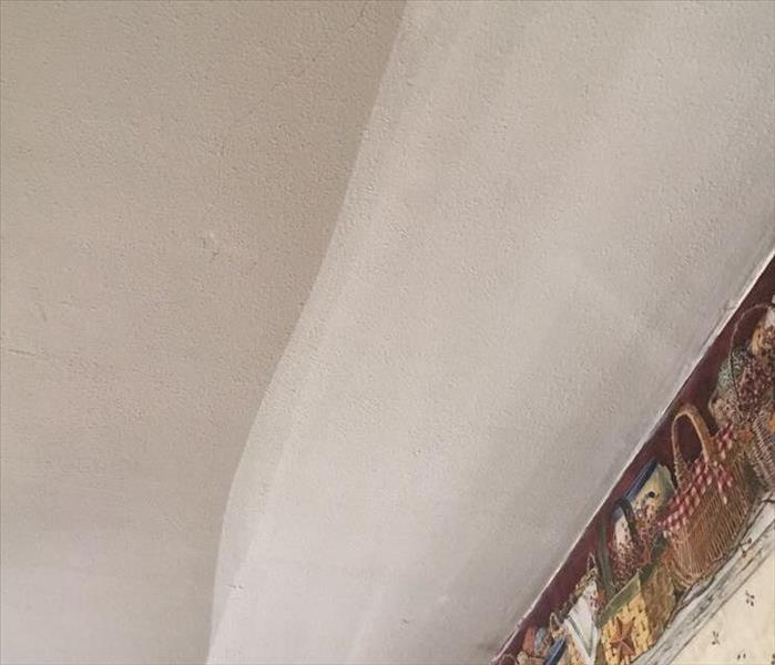 Soot cleaning of Ceiling